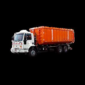 Caminhão Roll On Roll Off para coleta e transporte de grandes volumes de resíduos