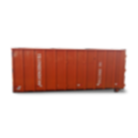 Caçamba Grande para colta e transorte degreands volumes de resíduos