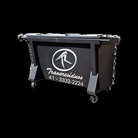 Container para coleta deresíduos orgânicos e rejeitos / classe II