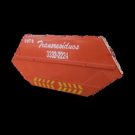 Caçamba Fechda para resíduos industriais ou reclicláveis