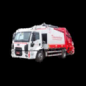 Caminhão Compactador para coleta e transporte de resíduos orgânicos e rejeitos domiciliares ou de grandes geradores
