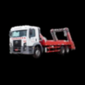 Caminhão Poliguindaste para coleta e transporte de resíduos industiais sólidos e pastosos e resíduos de construção civil