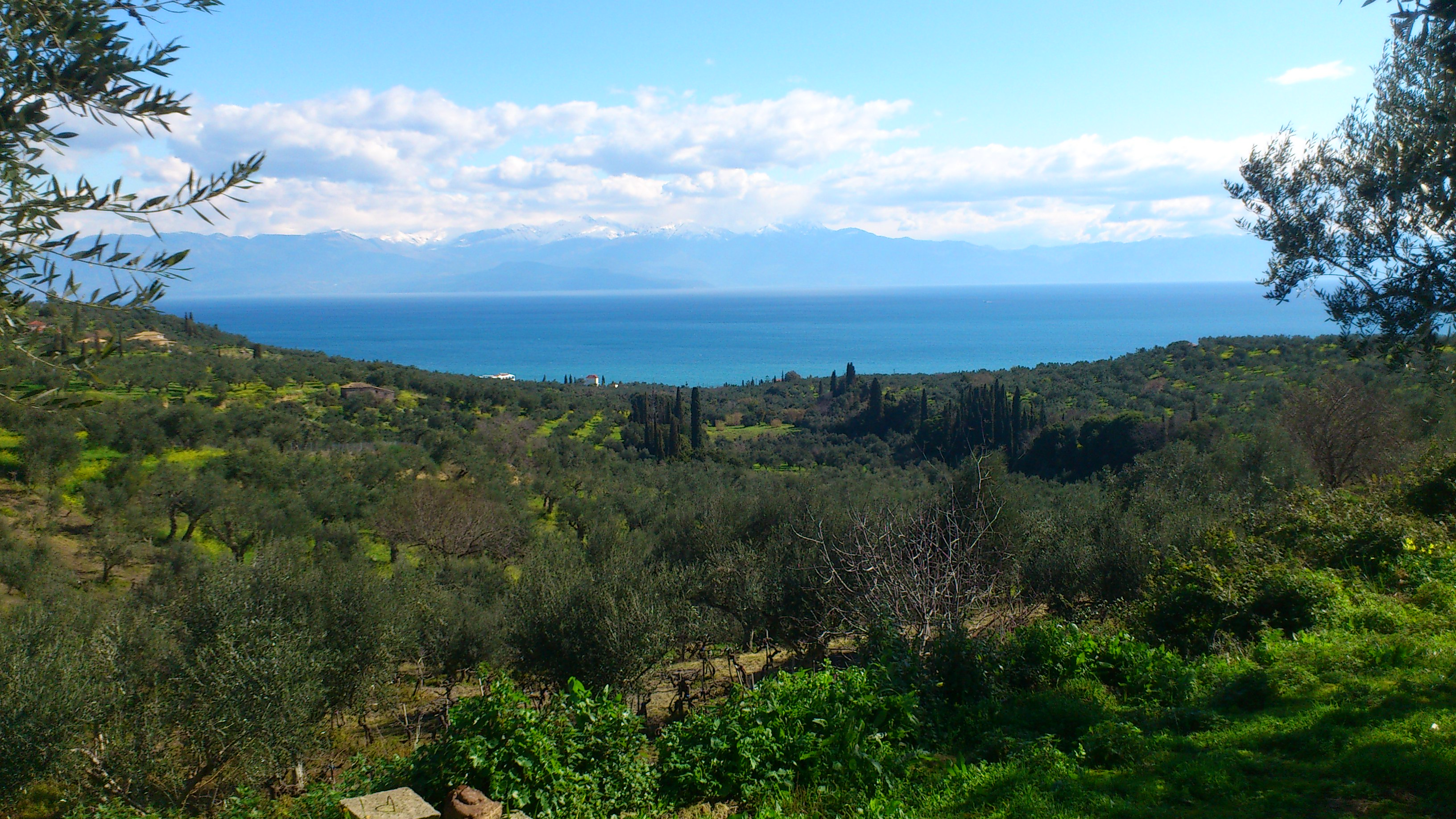 Bay of Kalamata, from Vounaria