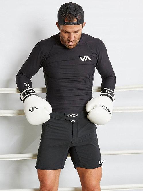 RVCA FIGHT SCRAPPER SHORTS [BLACK]