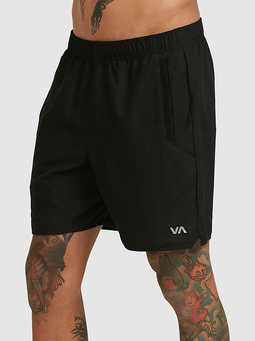 RVCA YOGGER IV SHORT [BLACK]