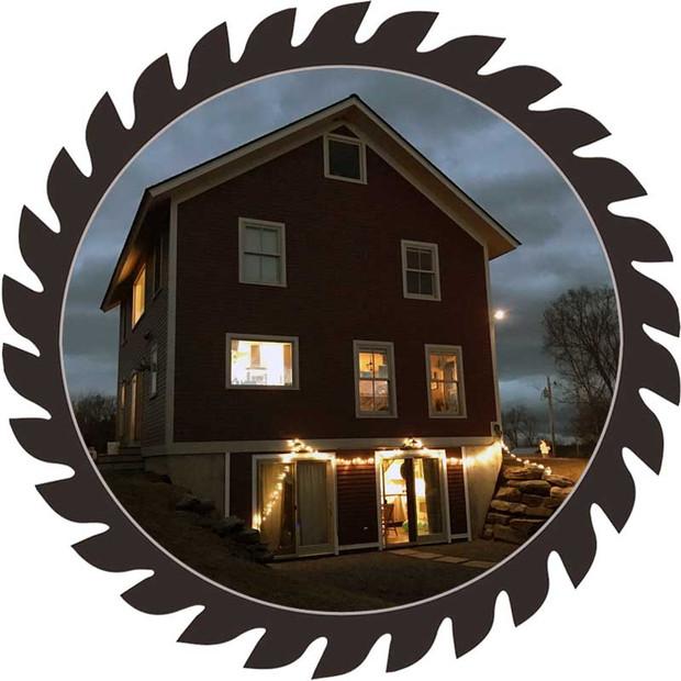 Full House Build - New Haven, VT