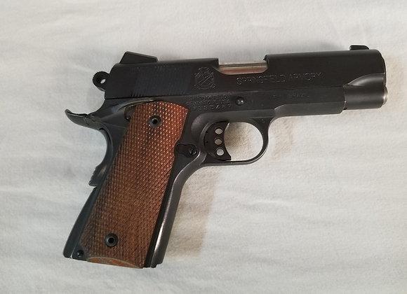Springfield Compact 45 (slightly used)