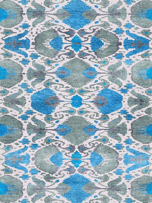 TONAL IKAT, Scandinavian Blue