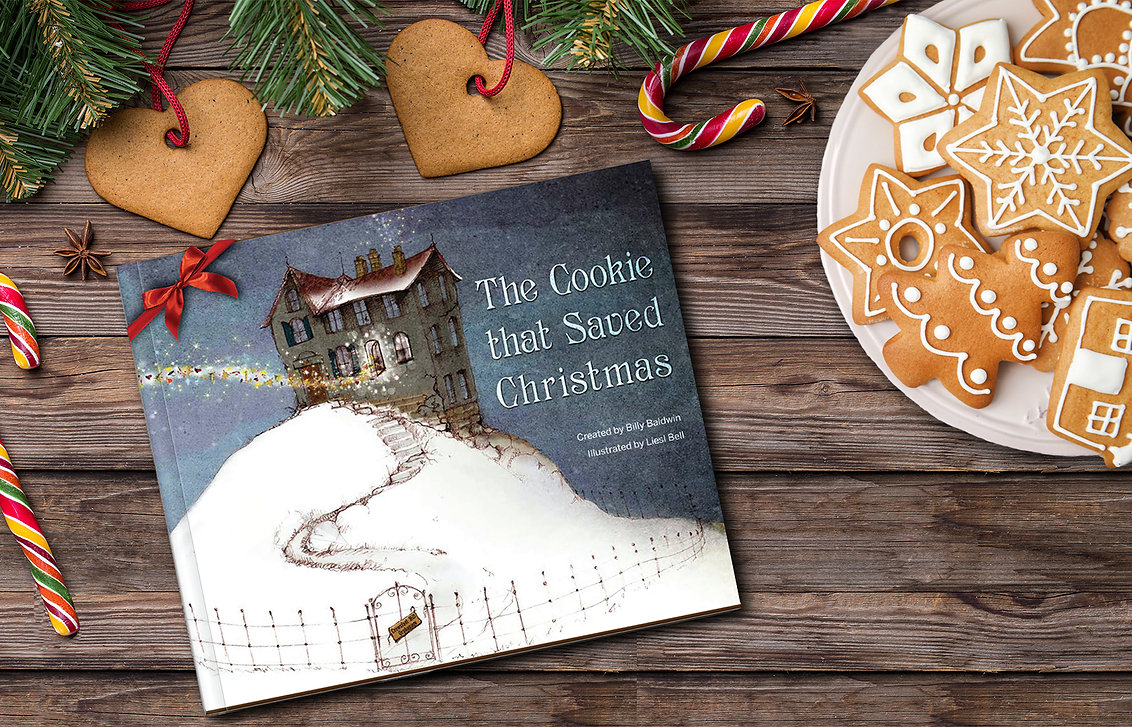 cookie book with cookie promo