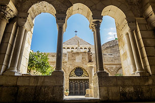 View of the Church of the Nativity Bethl