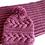 Thumbnail: Wrzosowy komin i czapka z warkoczami