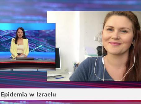 Wywiad dla Telewizji WTK - sytuacja w Izraelu