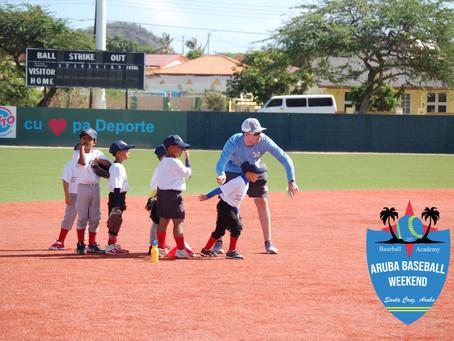 Aruba Baseball Weekend Update