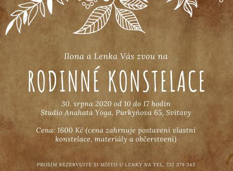 Rodinné konstelace s I.Bednářovou a L. Richterovou