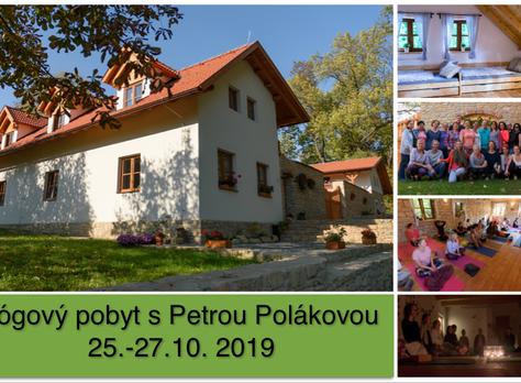 Víkend s jógou - Široký důl - 25.-27.10.2019