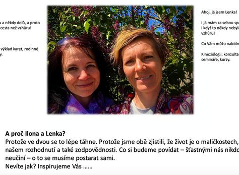 Rodinné konstelace s Ilonou Bednářovou a Lenkou Richterovou