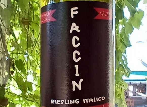 FACCIN RIESLING ITÁLICO 2019