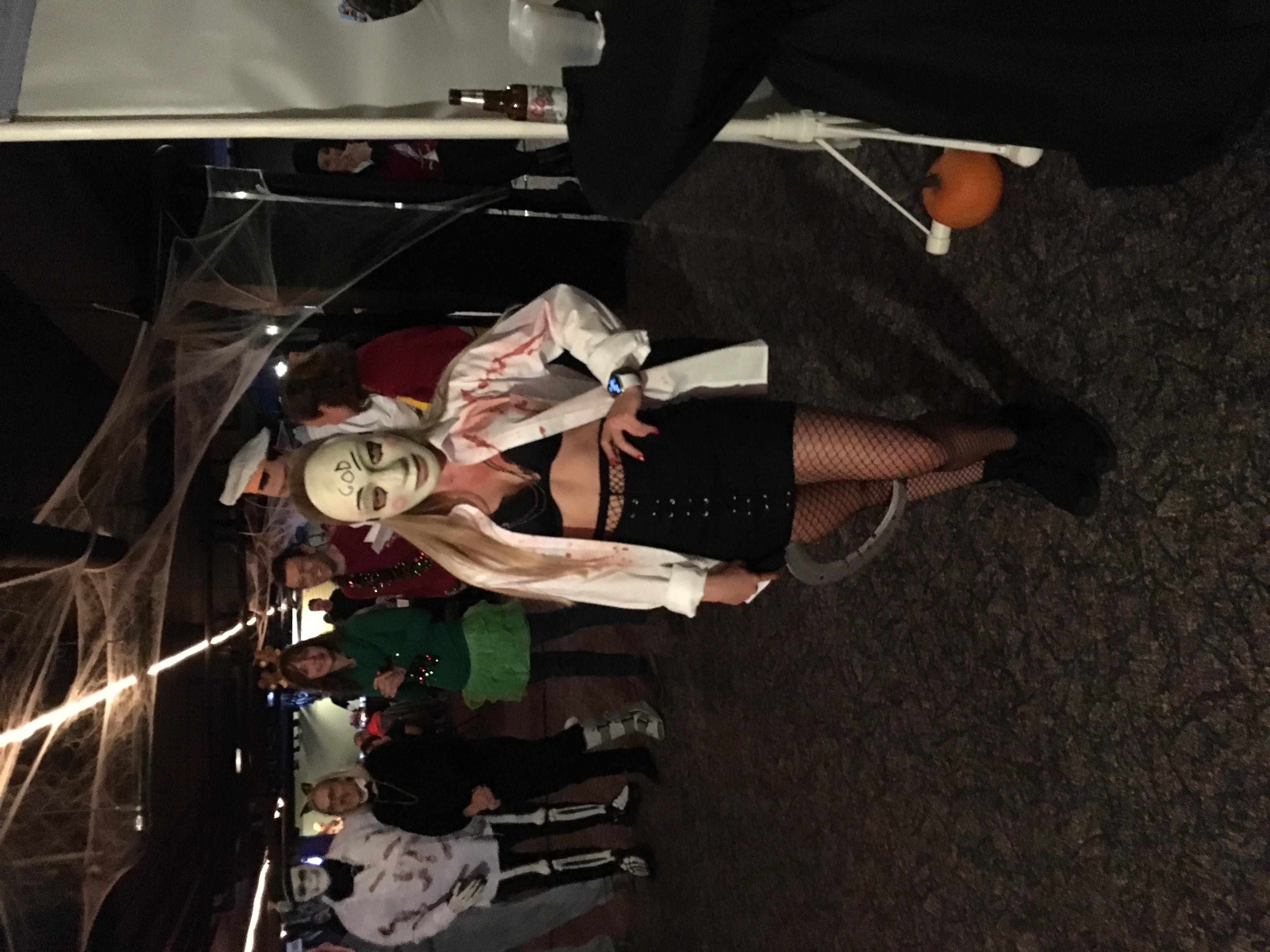 costume runner up