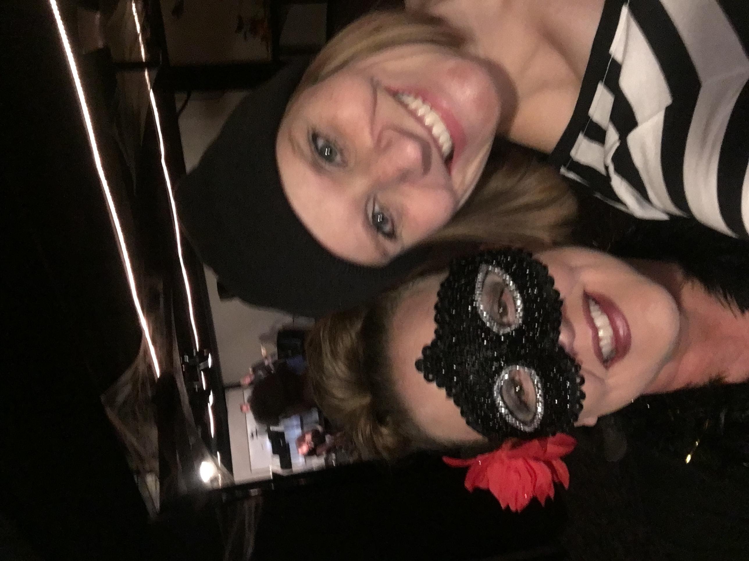 Kat and Rebecca Hall