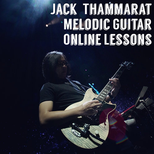 1 Hour Private Online Melodic Guitar Lesson with Jack