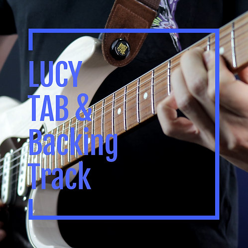 Jack Thammarat Band - Lucy - Guitar Transcription & Backing Track
