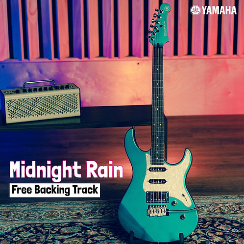 """Midnight Rain"" Backing Track [Jack Thammarat & Yamaha Guitars] - Free Download"
