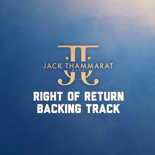 Jack Thammarat Band - Right of Return (Backing Track) - Master 24bit 48khz