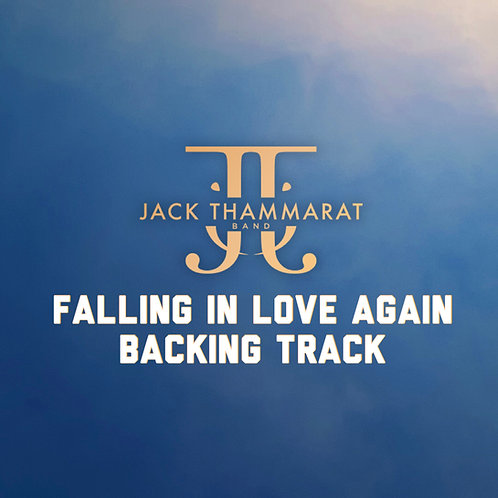 Jack Thammarat Band - Falling in Love Again (Backing Track) - Master 24bit 48khz