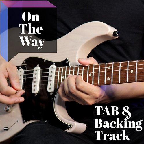 Jack Thammarat Band - On The Way - Guitar Transcription & Backing Track