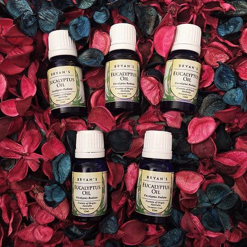 Bryan's Essential Oils: Eucalyptus Oil