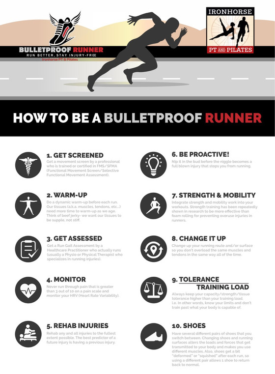 How to be a Bulletproof Runner