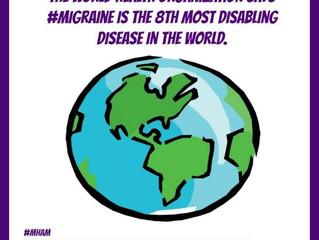 June is Migraine and Headache Awareness Month #MHAMSMC