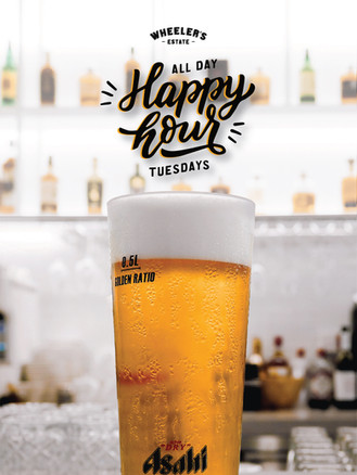 Tuesday All-Day Happy Hour