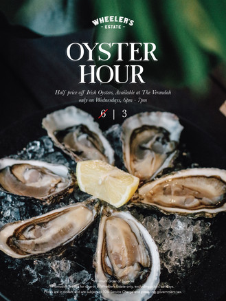 Wednesday Oyster Hour