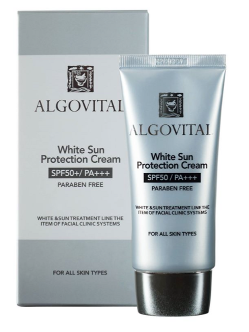ALGOVITAL WHITE SUN PROTECTION CREAM - 60G /2.1OZ