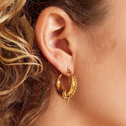 Earrings Saraswati