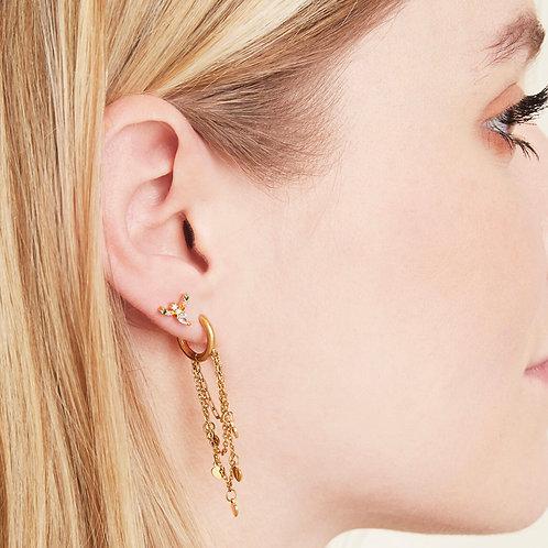 Earrings Hanging Hearts