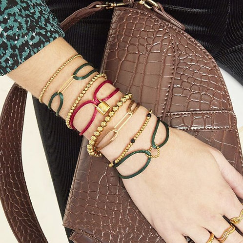 Bracelet Satin Clip