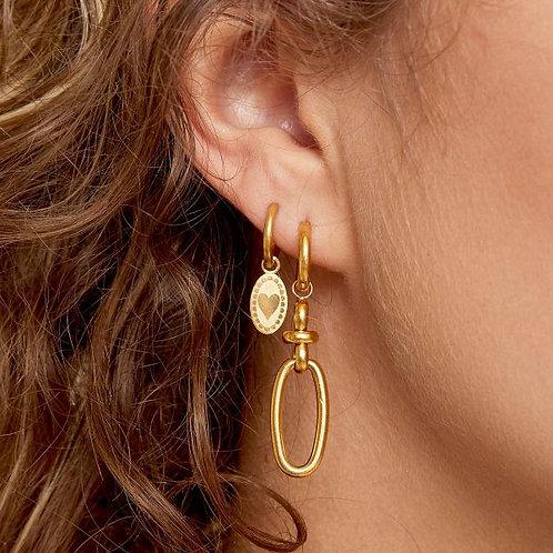 Earrings Embossed