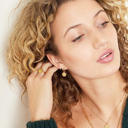 Earrings Magic Eye