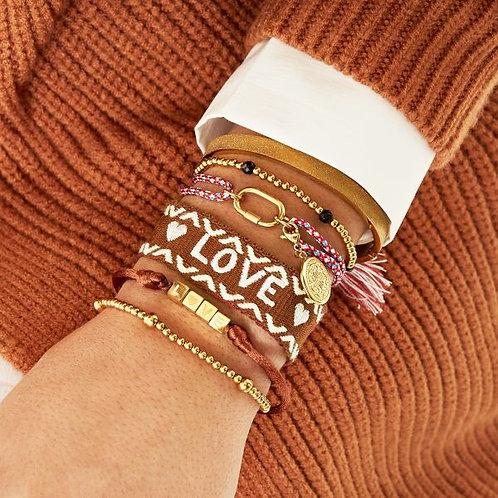 Bracelet Woven Love