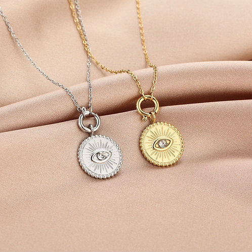 Necklace eye Diamond