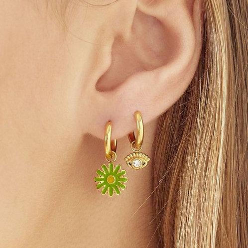 Earrings Sparkling Eye