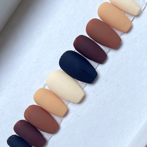 Gradient Brown and Cream