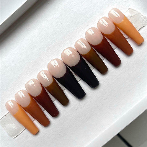 Dipped Chocolate French Tips