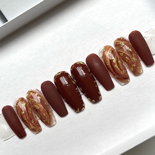Chocolate Brown from 'Caramel Cream'