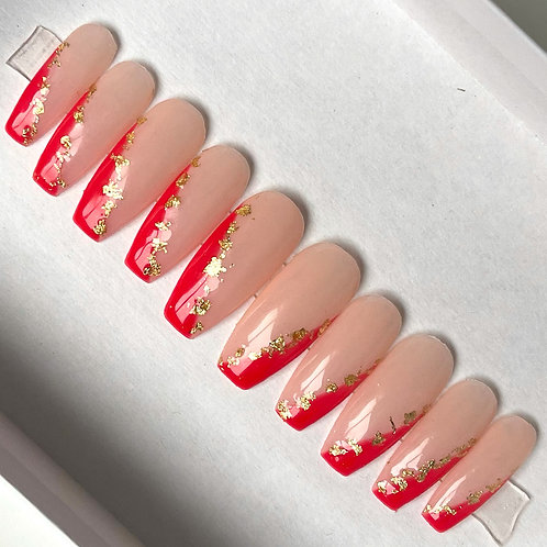 Red Gold Tips