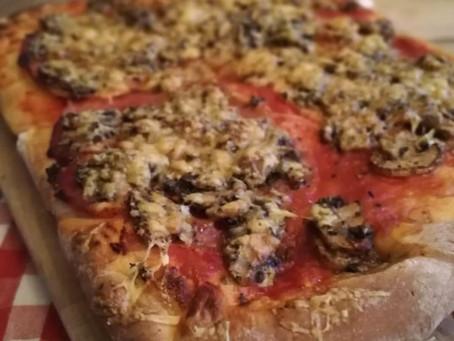 Pizza.....niet uit een pakje maar uit 't handje