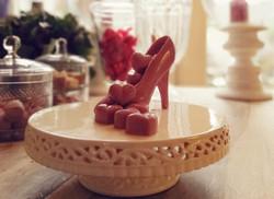ruby chocoladehartjes en muiltje