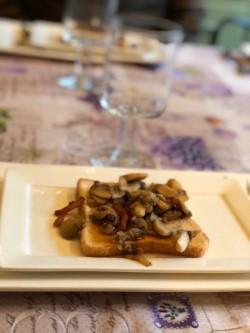 Champignons op toast